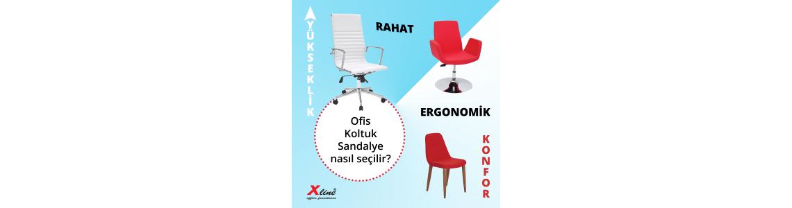 Ofis Koltuk Ve Sandalyenin Sağlık Açısından Önemi
