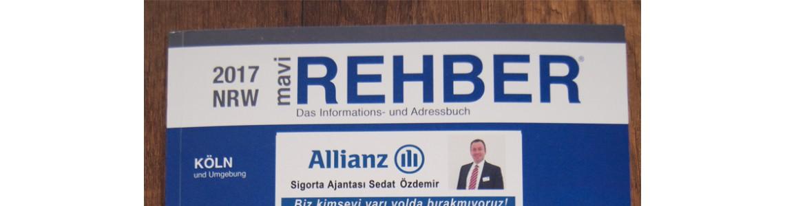 Mavi Rehber Almanya Dergisindeyiz